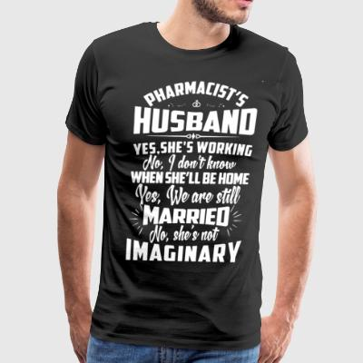 Pharmacist's Husband Shirt - Men's Premium T-Shirt