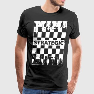 strategic wite - Men's Premium T-Shirt