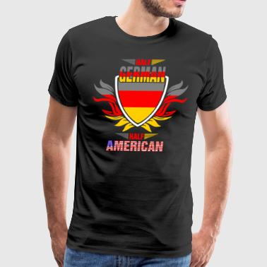 Half German Half American - Men's Premium T-Shirt