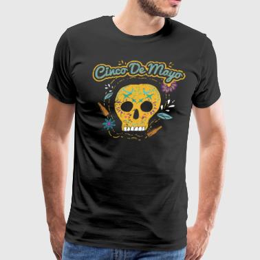 Cinco De Mayo Shirt Mexican Sugar Skull Shirt Cinco De Mayo Women Cinco De Mayo Party Shirt Cinco De - Men's Premium T-Shirt