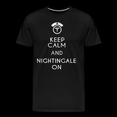 Funny Nurse Shirt Florence Nightingale Nurse Gift RN LPN NP - Men's Premium T-Shirt