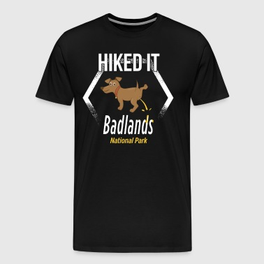 National Park Clothing Badlands National Park Hiking - Men's Premium T-Shirt