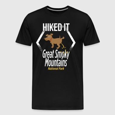 Great Smoky Mountains National Parks Hiking - Men's Premium T-Shirt