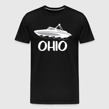 Great Lakes Boating Ohio Boating Fun Boating - Men's Premium T-Shirt