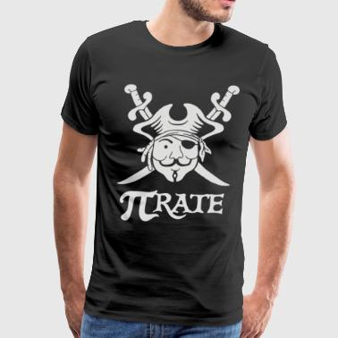 Pi Rate - Men's Premium T-Shirt