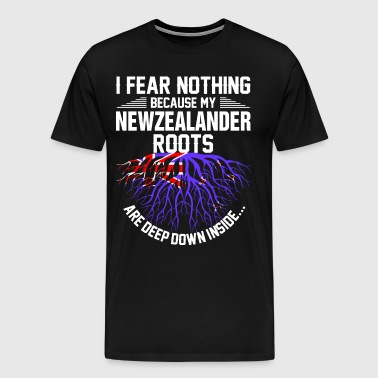 Newzealander Roots Are Deep Down Inside - Men's Premium T-Shirt