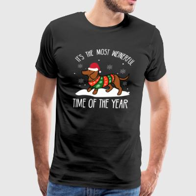 It's the most Wienerful time of the year - Men's Premium T-Shirt