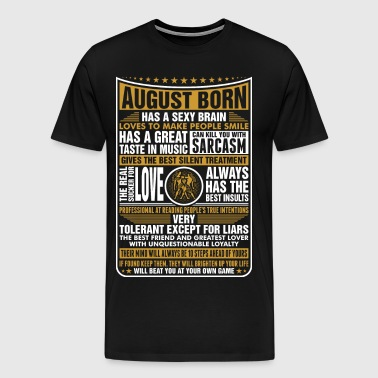 August Gemini Born - Men's Premium T-Shirt