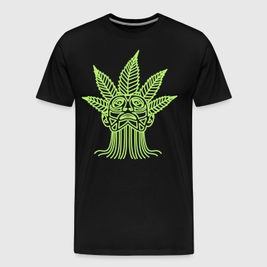 hemp leaf maja - Men's Premium T-Shirt