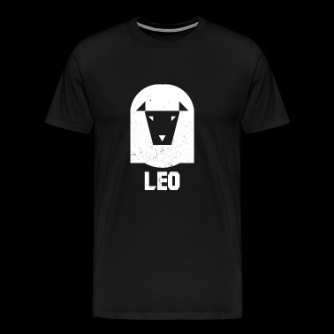 leo sign - Men's Premium T-Shirt