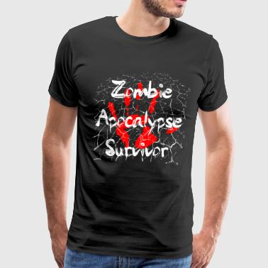 Zombie Apocalypse Survivor - Men's Premium T-Shirt