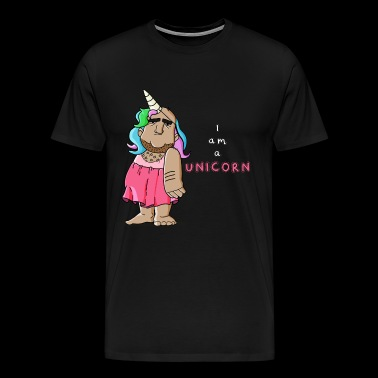 Yuri the Unicorn - Men's Premium T-Shirt