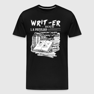 Writer Definition Shirt - Men's Premium T-Shirt