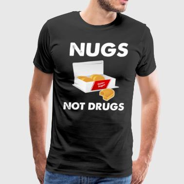 Nugs not drugs - Men's Premium T-Shirt