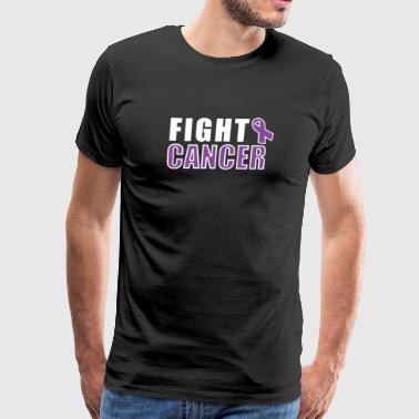 Fight Cancer - Cancer Motivation - Men's Premium T-Shirt