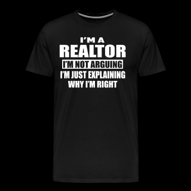 realtor - Men's Premium T-Shirt