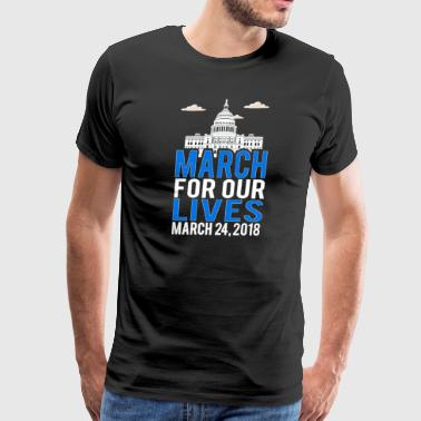 March For Our Lives 2018 New York, Washington - Men's Premium T-Shirt