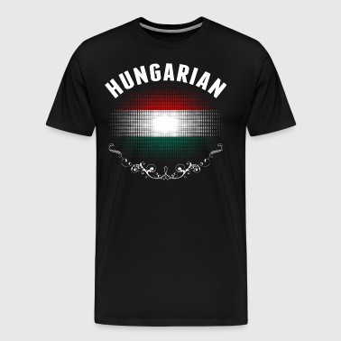 Hungarian Flag Tshirt - Men's Premium T-Shirt