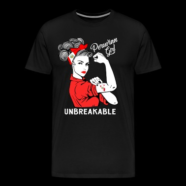 Peruvian Girl Unbreakable - Men's Premium T-Shirt