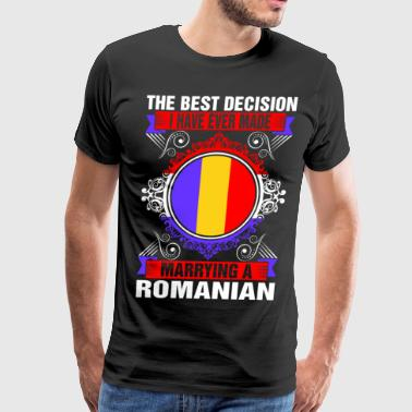 Marrying A Romanian - Men's Premium T-Shirt
