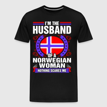 Im The Husband Of A Norwegian Woman - Men's Premium T-Shirt