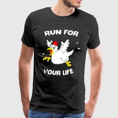 Chicken T Shirt - Men's Premium T-Shirt
