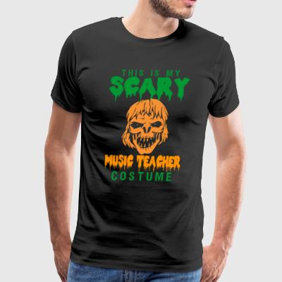 Halloween This My Scary Music Teacher Costume - Men's Premium T-Shirt
