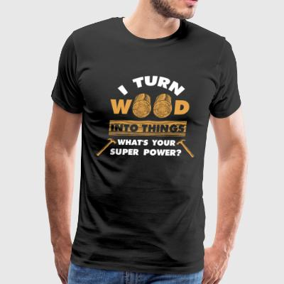 Carpenter Craftsman Woodworking Ranger Funny Gift - Men's Premium T-Shirt