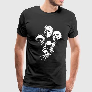 Horror Icons T-Shirt - Men's Premium T-Shirt