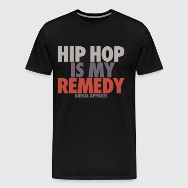 hip hop is my remedy - Men's Premium T-Shirt