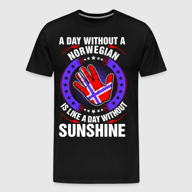 A Day Without A Norwegian Sunshine - Men's Premium T-Shirt