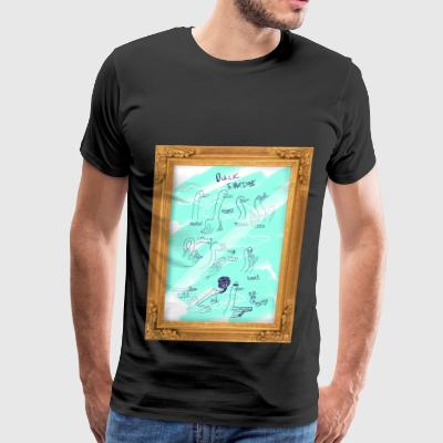 The Beauty of the Duck - Men's Premium T-Shirt