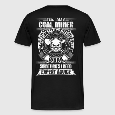 Coal Miner coal miner - Men's Premium T-Shirt