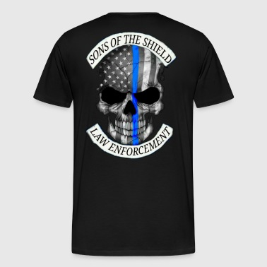 SONS OF THE SHIELD (corrected) - Men's Premium T-Shirt