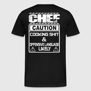 Chef  chef chef funny Chef (male) cool c - Men's Premium T-Shirt