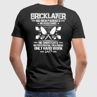 Bricklayer/Mason/Brickmason/Brickie/Gift/Hard Work - Men's Premium T-Shirt