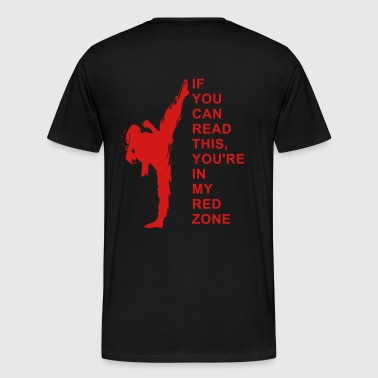 Red Zone - Men's Premium T-Shirt