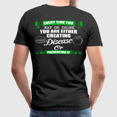 DISEASE OR PREVENTING - Men's Premium T-Shirt