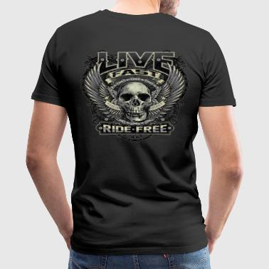 Live Fast Ride Free - Men's Premium T-Shirt