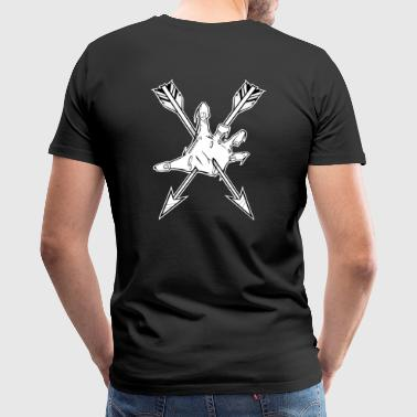 Zombie resistance badge - Men's Premium T-Shirt