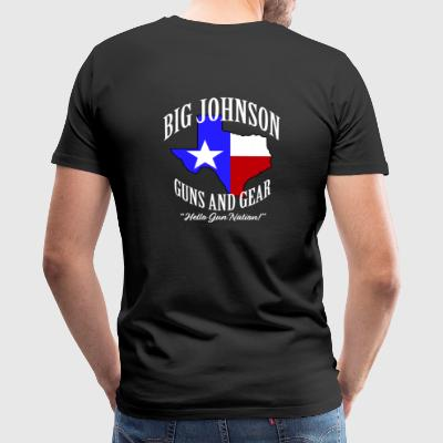 big Johnson guns and gear - Men's Premium T-Shirt