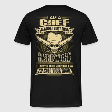 Chef chef (male) provocative chef (male) funny t - Men's Premium T-Shirt
