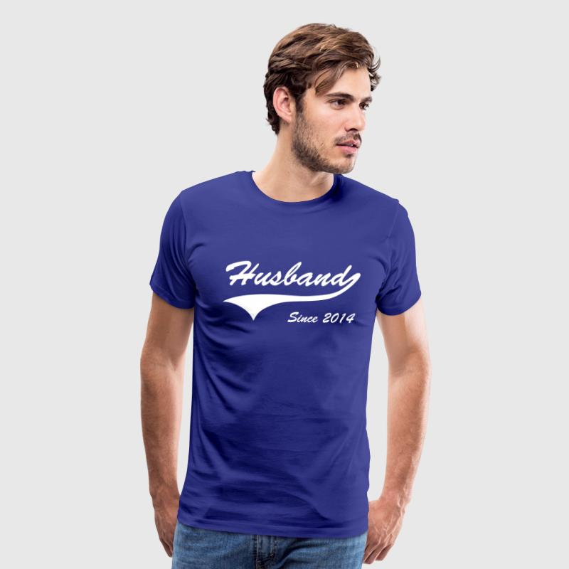 Husband Since 2014 - Men's Premium T-Shirt
