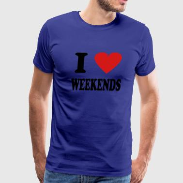 weekend - Men's Premium T-Shirt