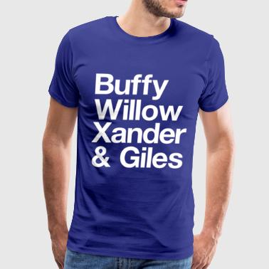Buffy Scoobies - Men's Premium T-Shirt
