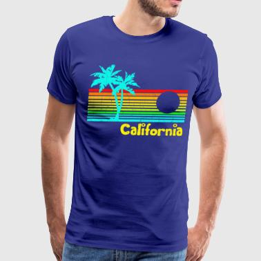 1980s Vintage Retro California - Men's Premium T-Shirt