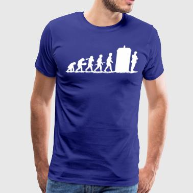 Evolution Doctor Who! - Men's Premium T-Shirt