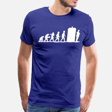 Evolution Evolution Doctor Who! - Men's Premium T-Shirt
