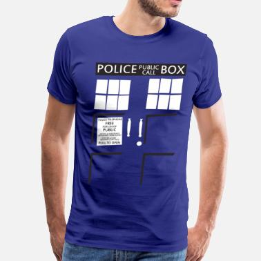 Blue Box Blue Box - Men's Premium T-Shirt
