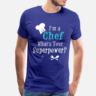 superpower_chefm - Men's Premium T-Shirt